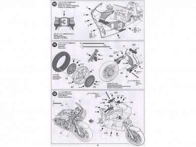 Tamiya - Honda NSR500 Factory Color, Mastelis: 1/12, 14099 10
