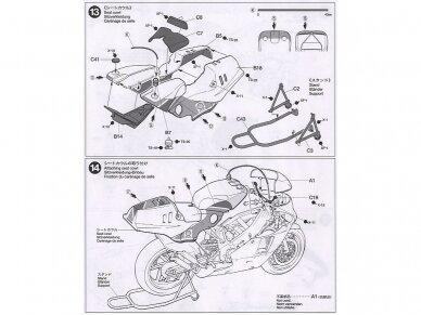 Tamiya - Honda NSR500 Factory Color, Mastelis: 1/12, 14099 11