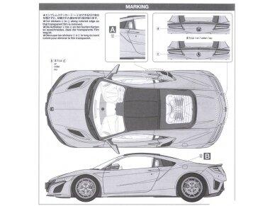 Tamiya - Honda NSX 2016, Mastelis: 1/24, 24344 11