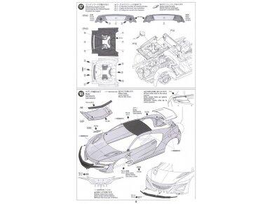 Tamiya - Honda NSX 2016, Mastelis: 1/24, 24344 19