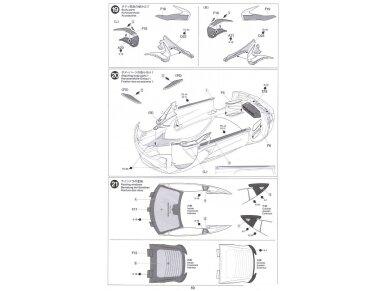 Tamiya - Honda NSX 2016, Mastelis: 1/24, 24344 20