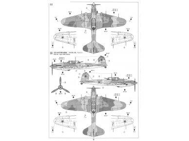Tamiya - Ilyushin IL-2 Shturmovik, Scale: 1/72, 60781 11
