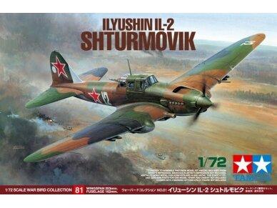 Tamiya - Ilyushin IL-2 Shturmovik, Mastelis: 1/72, 60781