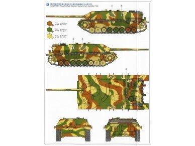 Tamiya - Jagdpanzer IV/70(V) Lang (Sd.Kfz.162/1), Mastelis: 1/35, 35340 14