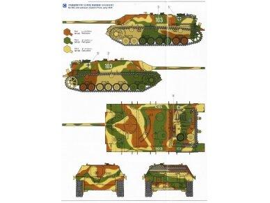 Tamiya - Jagdpanzer IV/70(V) Lang (Sd.Kfz.162/1), Mastelis: 1/35, 35340 16
