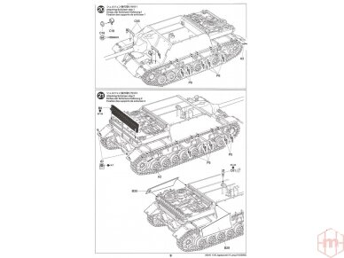 Tamiya - Jagdpanzer IV/70(V) Lang (Sd.Kfz.162/1), Mastelis: 1/35, 35340 25