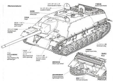 Tamiya - Jagdpanzer IV/70(V) Lang (Sd.Kfz.162/1), 1/35, 35340 9