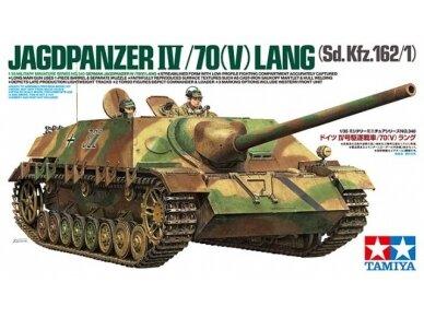 Tamiya - Jagdpanzer IV/70(V) Lang (Sd.Kfz.162/1), 1/35, 35340
