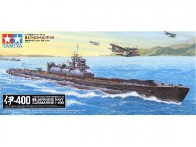 Tamiya - Japanese Navy Submarine I-400, Mastelis: 1/350, 78019