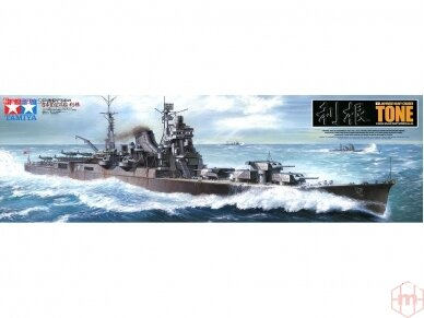Tamiya - IJN Heavy Cruiser TONE, 1/350, 78024