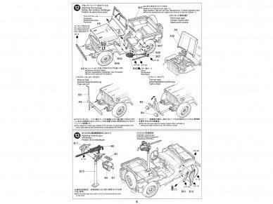 Tamiya - Jeep Willys MB, Mastelis: 1/35, 35219 11