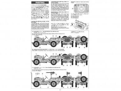 Tamiya - Jeep Willys MB, Mastelis: 1/35, 35219 5