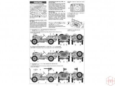 Tamiya - Jeep Willys MB, Mastelis: 1/35, 35219 5