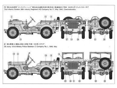 Tamiya - Jeep Willys MB, Mastelis: 1/35, 35219 6