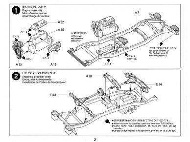Tamiya - Jeep Willys MB, Mastelis: 1/35, 35219 7