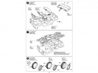 Tamiya - Jeep Willys MB, Mastelis: 1/35, 35219 9