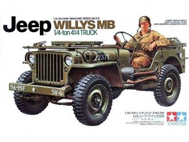 Tamiya - Jeep Willys MB, Mastelis: 1/35, 35219