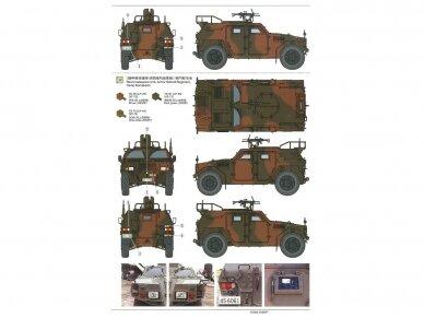 Tamiya - JGSDF Light Armored Vehicle, Mastelis: 1/35, 35368 11