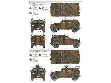 Tamiya - JGSDF Light Armored Vehicle, Scale: 1/35, 35368 10