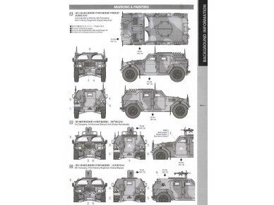 Tamiya - JGSDF Light Armored Vehicle, Mastelis: 1/48, 32590 6