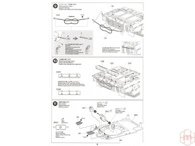Tamiya - JGSDF TYPE 10 TANK, Mastelis: 1/48, 32588 16