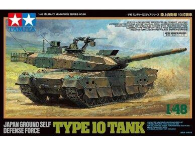Tamiya - JGSDF TYPE 10 TANK, Mastelis: 1/48, 32588