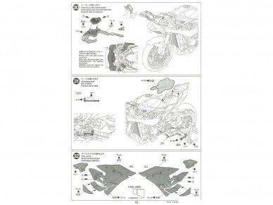 Tamiya - Kawasaki Ninja H2R, Scale: 1/12, 14131 28