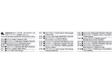 Tamiya - Kawasaki Ninja ZX-RR, Mastelis: 1/12, 14109 11