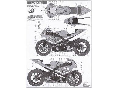 Tamiya - Kawasaki Ninja ZX-RR, Mastelis: 1/12, 14109 12