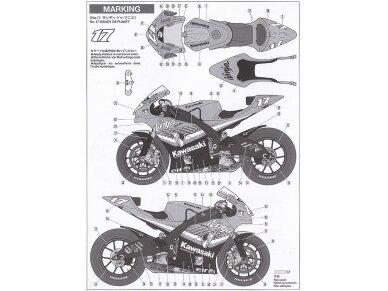 Tamiya - Kawasaki Ninja ZX-RR, Scale: 1/12, 14109 13