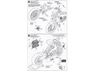 Tamiya - Kawasaki Ninja ZX-RR, Mastelis: 1/12, 14109 19
