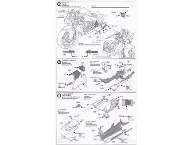 Tamiya - Kawasaki Ninja ZX-RR, Mastelis: 1/12, 14109 20