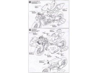 Tamiya - Kawasaki Ninja ZX-RR, Mastelis: 1/12, 14109 21