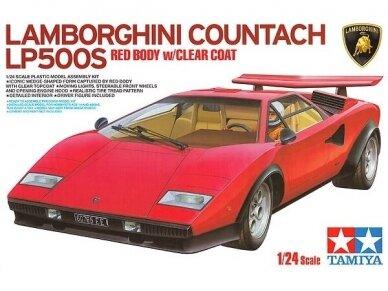 Tamiya - Lamborghini countach LP500S, Mastelis: 1/24, 25419