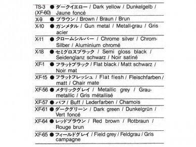 Tamiya - Late Version Tiger I su įgula, Mastelis: 1/35, 25401 11