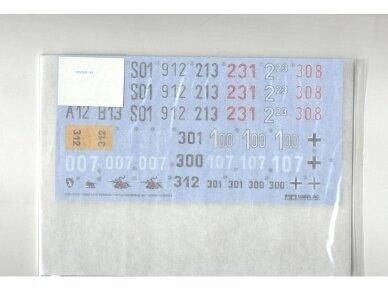 Tamiya - Late Version Tiger I su įgula, Mastelis: 1/35, 25401 2
