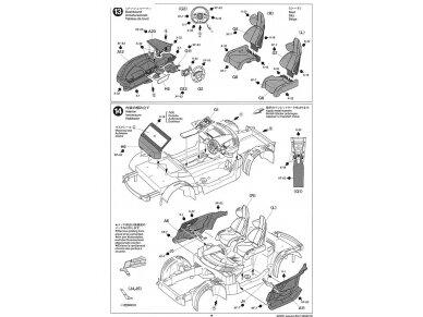 Tamiya - Lexus LFA, Mastelis: 1/24, 24319 19