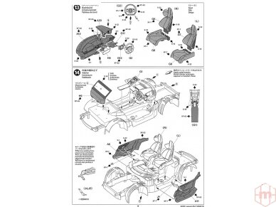 Tamiya - Lexus LFA, Scale: 1/24, 24319 19