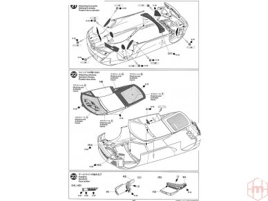 Tamiya - Lexus LFA, Mastelis: 1/24, 24319 22