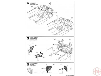 Tamiya - Lexus LFA, Mastelis: 1/24, 24319 23