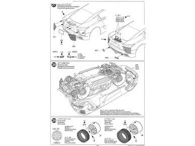 Tamiya - Lexus LFA, Mastelis: 1/24, 24319 24