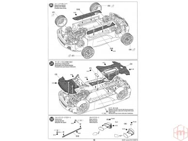 Tamiya - Lexus LFA, Mastelis: 1/24, 24319 25