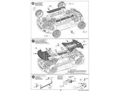Tamiya - Lexus LFA, Scale: 1/24, 24319 25