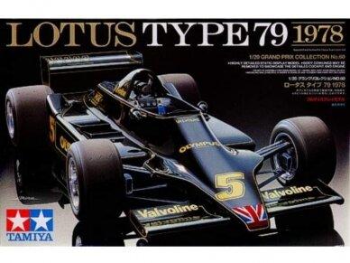 Tamiya - Lotus Type79 1978, Mastelis: 1/20, 20060
