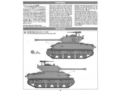 Tamiya - M1 Super Sherman, Mastelis: 1/35, 35322 12