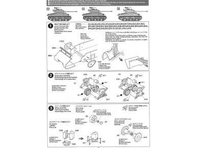 Tamiya - M1 Super Sherman, Mastelis: 1/35, 35322 14