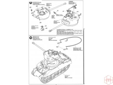 Tamiya - M1 Super Sherman, Mastelis: 1/35, 35322 19