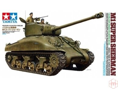 Tamiya - M1 Super Sherman, Mastelis: 1/35, 35322