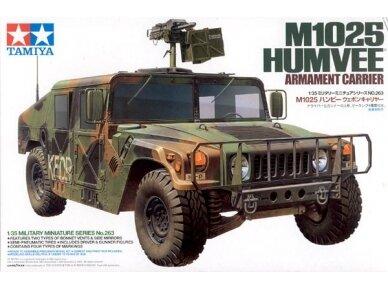 Tamiya - M1025 Humvee Armament Carrier, Mastelis: 1/35, 35263