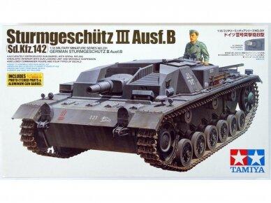 Tamiya - Sd.Kfz. 142 Sturmgeschütz III Ausf.B, Mastelis: 1/35, 35281